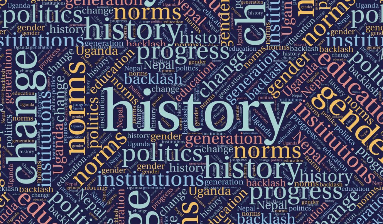 History and change graphic