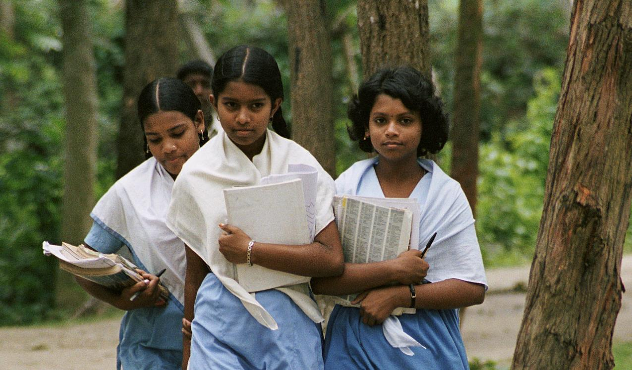 School girls in Bangladesh