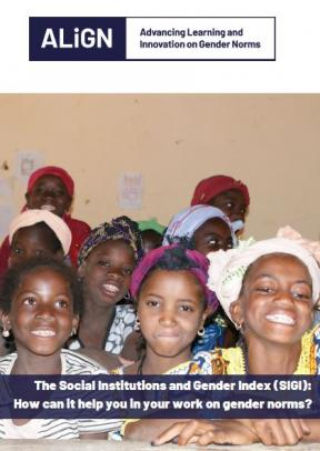 Cover of report showing girls at a school in Burkina Faso