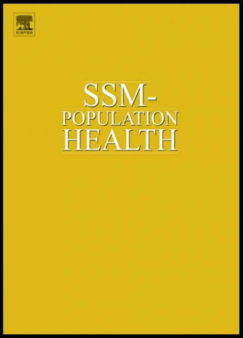SSM population health report cover