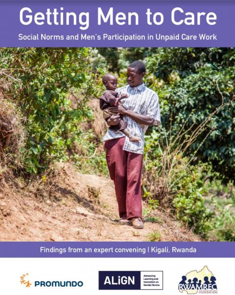 Getting men to care report cover