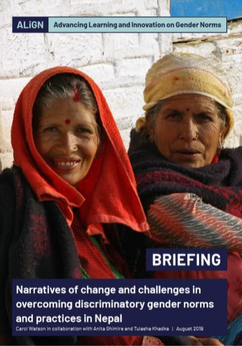 Nepal briefing cover