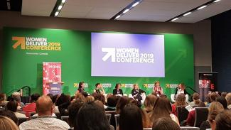 One of the all-women panel's at the conference
