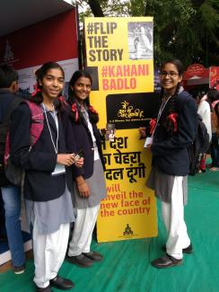 Promotion of MKBKSH at the Jaipur Literature Festival