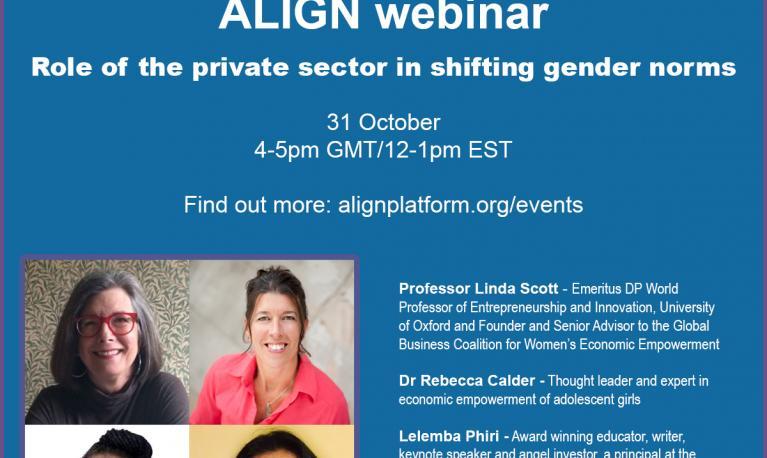 Private sector | Align Platform