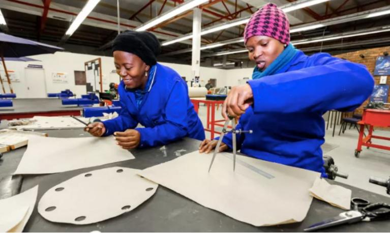 Female engineers in South Africa. Credit: Sunshine Seeds/Shutterstock