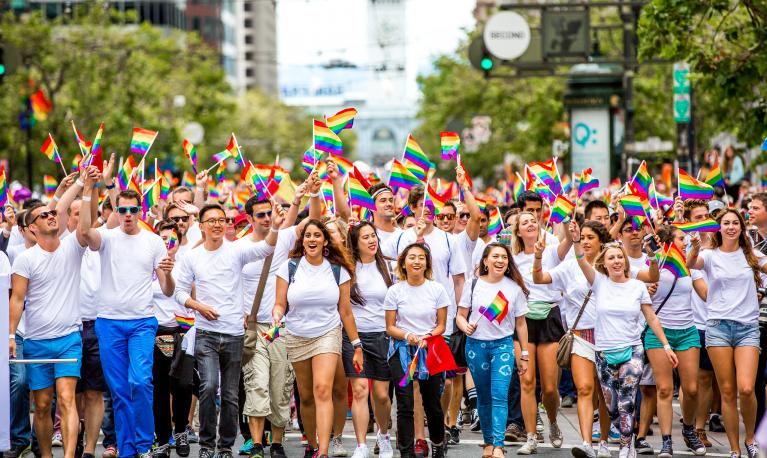 Pride in San Francisco 2015 with Apple. © Thomas Hawk