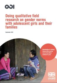 Two young women talking outside - the front cover of this publication