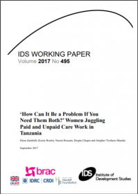 IDS working paper cover