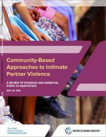 Community-Based Approaches to Intimate Partner Violence