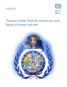 Towards a better future for women and work: Voices of women and men - ILO Gallup 2017