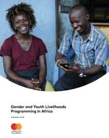 Gender and Youth Livelihoods Programming in Africa