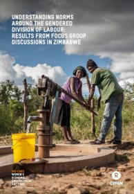 Cover of Oxfam's report on norms