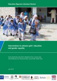 Cover of education literature review