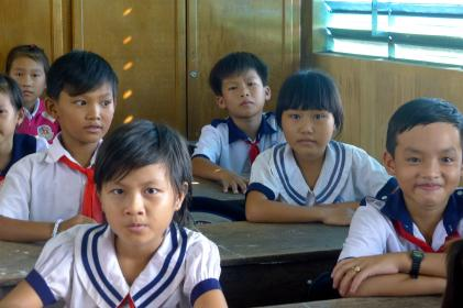 Pupils in An Giang. Credit: Dang Bich Thuy