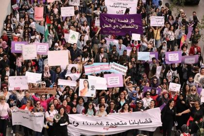 International Women's Day 2018, Lebanon. © Fe-Male