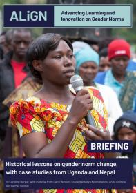 Cover of briefing paper