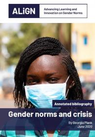 Cover of bibliography showing a lady wearing a facemask in Mali during the Covid-19 (coronavirus) outbreak.  © World Bank / Ousmane Traore