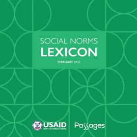 Cover of social norms lexicon toolkit