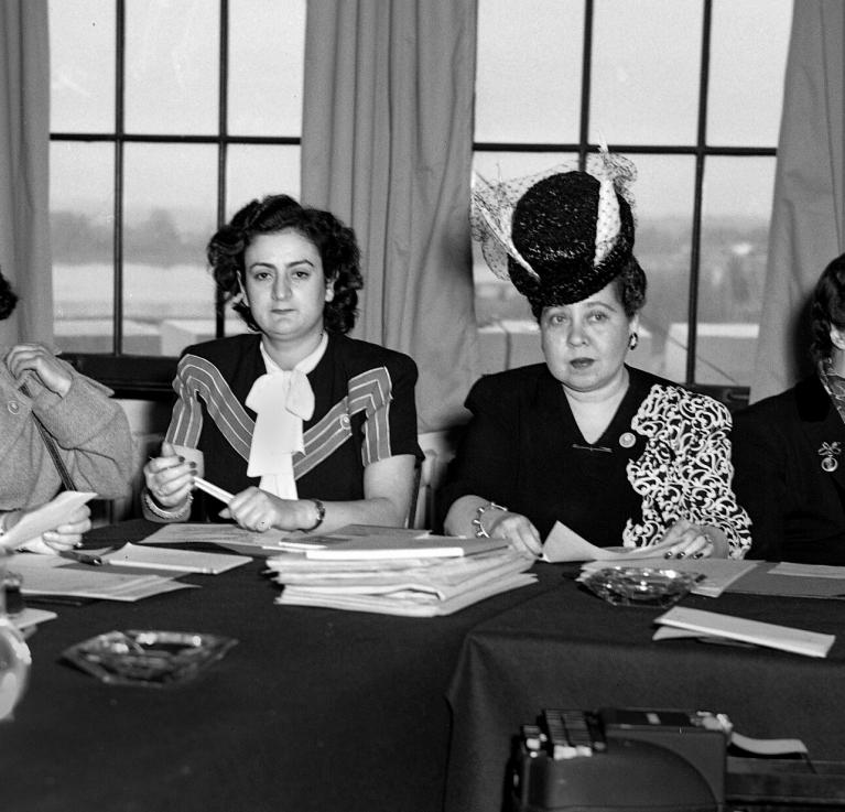 The birth of the Commission on the Status of Women in the 1946 UN General Assembly. © UN Women